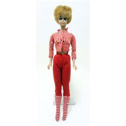 VINTAGE C. 1960S BLONDE BUBBLE CUT BARBIE DOLL