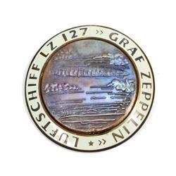 GERMAN NAZI GRAF ZEPPELIN LUFTSCHIFF LZ127 AIR SHIP BADGE