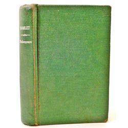 "1953 ""HAMLET"" BY SHAKESPEARE HARDCOVER BOOK"