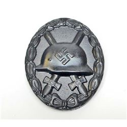GERMAN NAZI BLACK WOUND BADGE