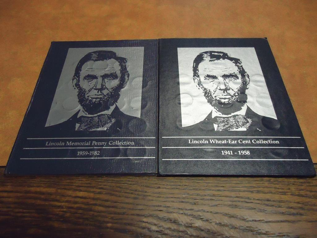 1941-1958 full Lincoln Cent Album