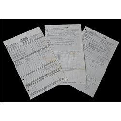 "Back To The Future - ""Marty Screen Test"" Production Call Sheets - 18312"