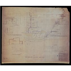 Back To The Future - 1955 Hill Valley Business Dist. Blueprint - 18448