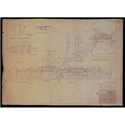 Back To The Future - 1955 Hill Valley Business Dist. Blueprint - 18449