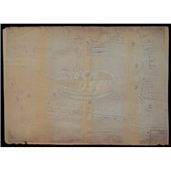 Back To The Future - 1955 Hill Valley Courthouse/Business Dist. Blueprint - 18447