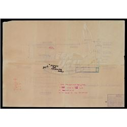 Back To The Future - Bank of America Bldg (Clock) Blueprint - 18451