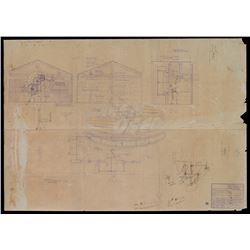 Back To The Future - Hill Valley Courthouse Blueprint - 18452
