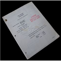 Back To The Future - Original 66 Day Shooting Schedule - 18314
