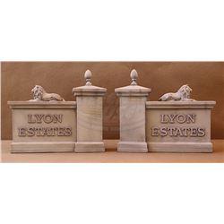 Back To The Future - Lyon Estates Gates - 18434