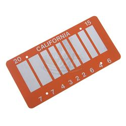 Back To The Future 2 - Barcode License Plate - 17676