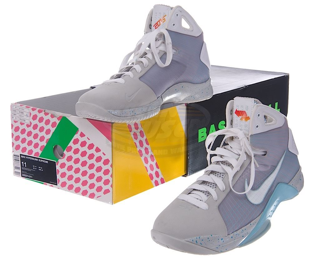 9cad884e0ad7 Image 1   Back To The Future 2 - Rare Nike HyperDunk (Marty McFly Inspired  ...