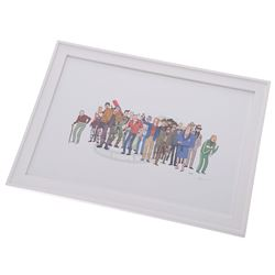 """Back To The Future - """"Biff to the Future"""" Framed Limited Edition Giclee Print - 18014"""