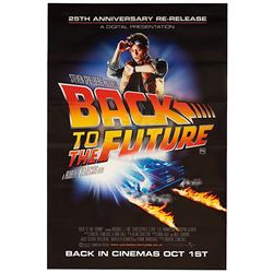 Back To The Future - 25th Anniversary Re-release One-Sheet - 17778