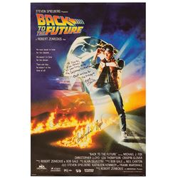 Back To The Future - Autographed Poster & Letter From Bob Gale - 17777
