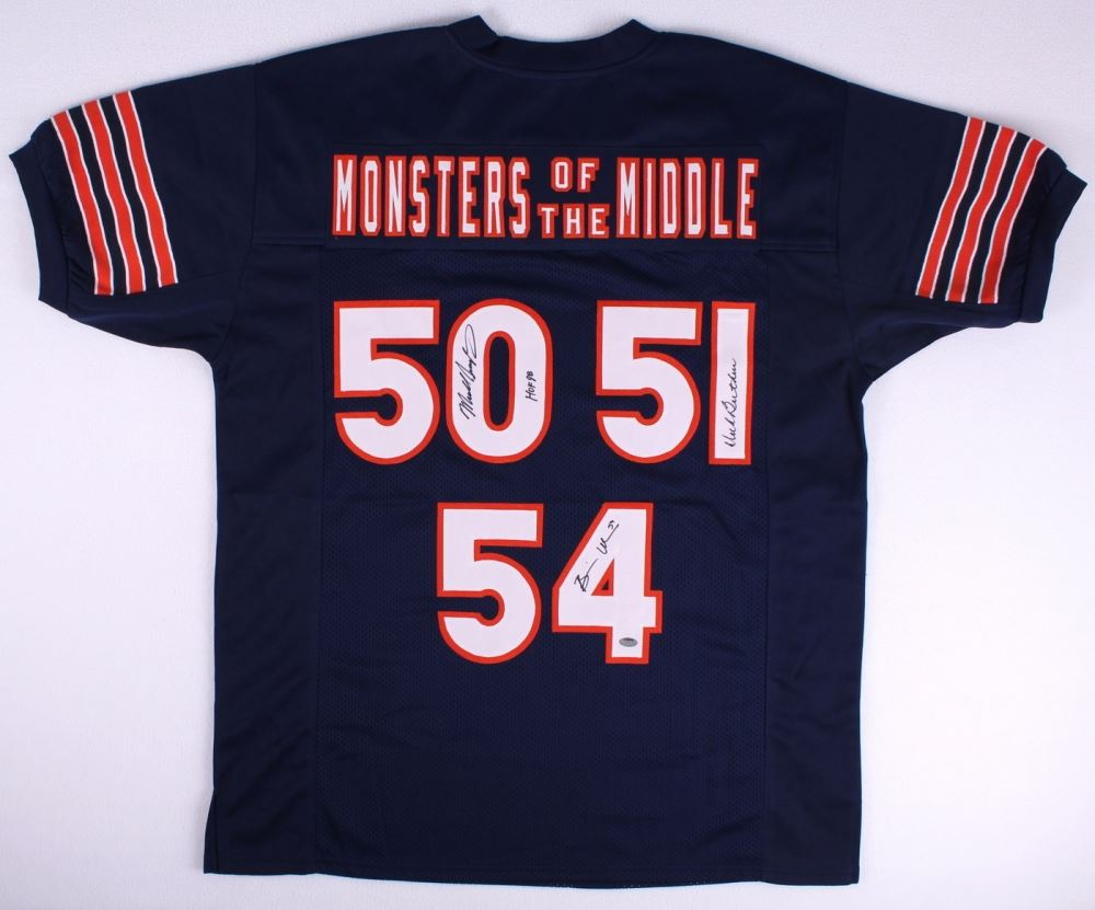 d9e00efa804 Image 1 : Dick Butkus, Brian Urlacher & Mike Singletary Signed Bears