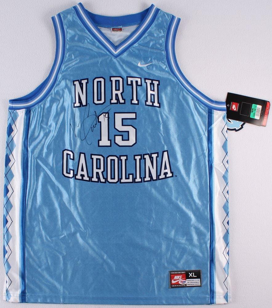 354ae3a29f4 Image 1 : Vince Carter Signed North Carolina Jersey (PSA) ...