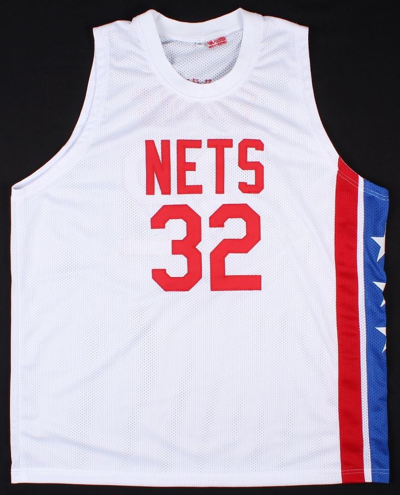 5808557c1 ... Image 3 : Julius Erving Signed Nets Throwback Jersey Inscribed