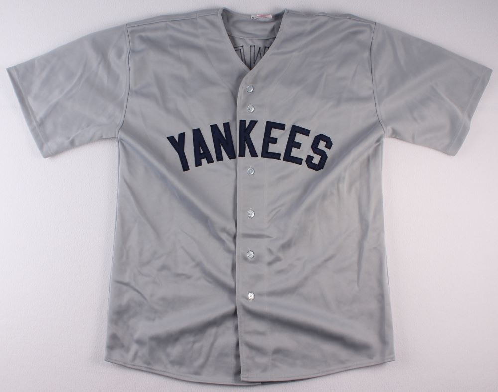 best loved e5e3a fc315 Darryl Strawberry Signed Yankees Jersey Inscribed