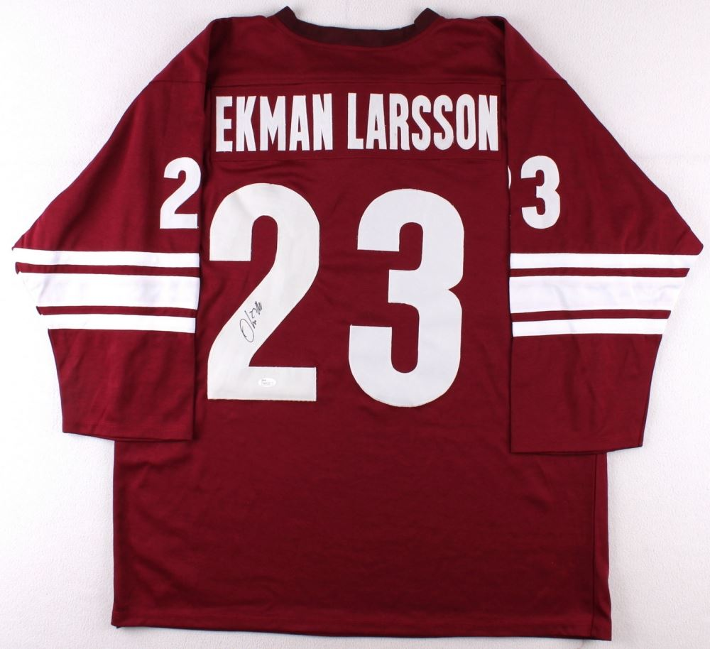 buy popular 31e37 59a72 Oliver Ekman-Larsson Signed Coyotes Jersey (JSA COA)