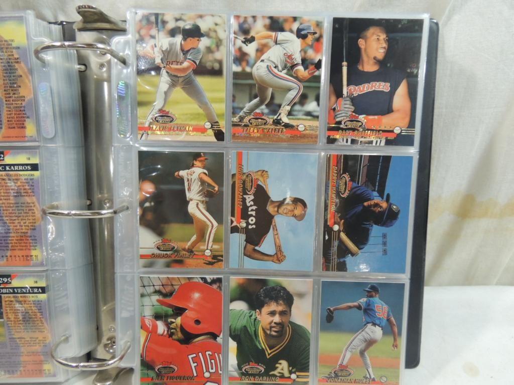 1992 Stadium Club Set Baseball Card Binder