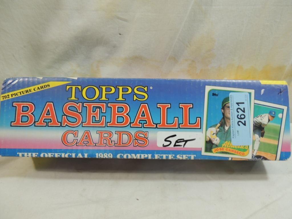 1989 Topps Baseball Card Complete Set