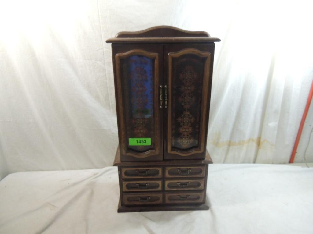 Deluxe Dresser Top Jewelry Box