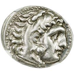 MACEDONIAN KINGDOM: Alexander III, the Great, 336-323 BC, AR drachm