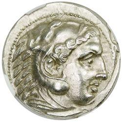 MACEDONIAN KINGDOM: Alexander III, the Great, 336-323 BC, AR tetradrachm (17.28g)
