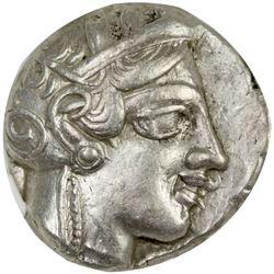 ATHENS: Anonymous, 4th century BC, AR tetradrachm (17.17g)