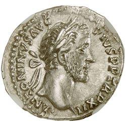 ROMAN EMPIRE: Antoninus Pius, 138-161 AD, AR denarius
