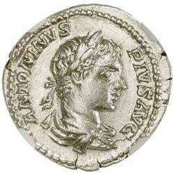 ROMAN EMPIRE: Caracalla, 198-217 AD, AR denarius