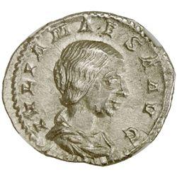 ROMAN EMPIRE: Julia Maesa, grandmother of Elagabalus, 218-226 AD, AR denarius