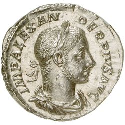 ROMAN EMPIRE: Severus Alexander, 222-235 AD, AR denarius