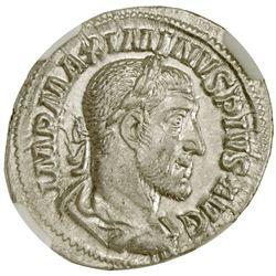 ROMAN EMPIRE: Maximinus I, 235-238 AD, AR denarius