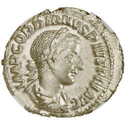 ROMAN EMPIRE: Gordian III, 238-244 AD, AR denarius