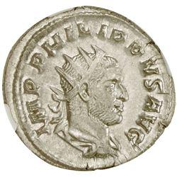 ROMAN EMPIRE: Philip I, 244-249 AD, AR antoninianus
