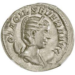 ROMAN EMPIRE: Otacilia Severa, wife of Philip I, 244-249 AD, AR antoninianus