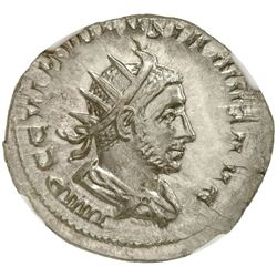ROMAN EMPIRE: Volusian, 251-253 AD, AR antoninianus