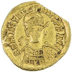 ROMAN EMPIRE: Anthemius, 467-472 AD, AV solidus (3.95g), [Rome]
