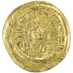 BYZANTINE EMPIRE: Justinian I, 527-565, AV solidus (4.51g), [Constantinople]