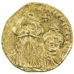 BYZANTINE EMPIRE: Constans II, 641-668, AV solidus (4.34g), [Constantinople]