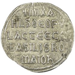 BYZANTINE EMPIRE: Michael II, the Amorian, 820-829, AR miliaresion (1.81g)