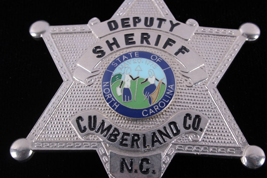 Deputy Sheriff Cumberland North Carolina Badge