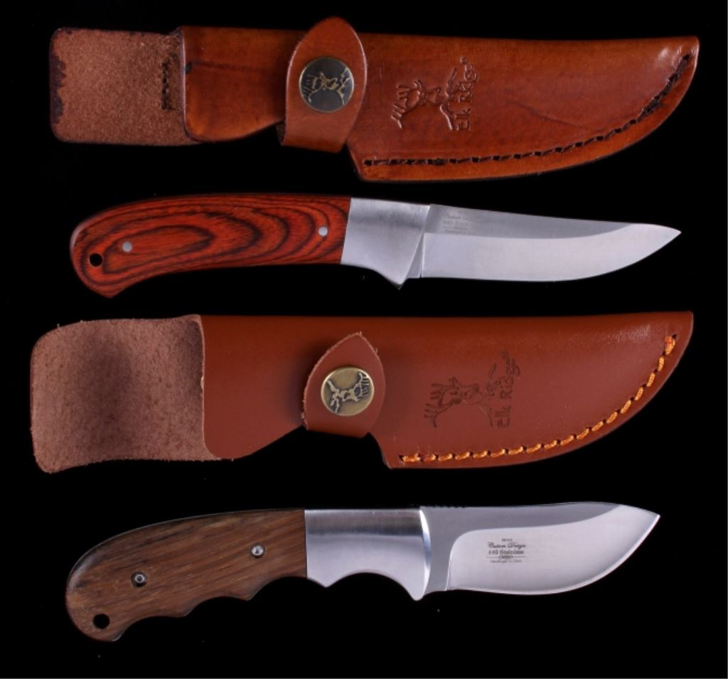 Elk Ridge 440 Stainless Steel Knives (2)