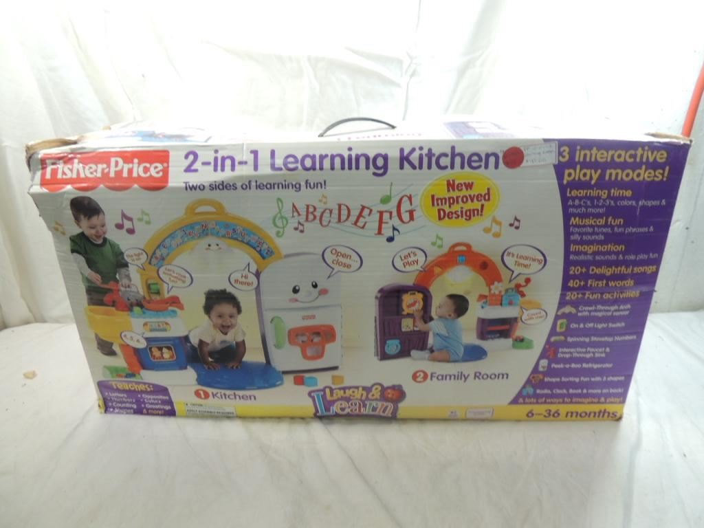 FISHER PRICE 2-IN-1 LEARNING KITCHEN