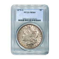 1879-S $1 Morgan Silver Dollar PCGS MS64