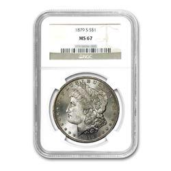 1879-S $1 Morgan Silver Dollar NGC MS67