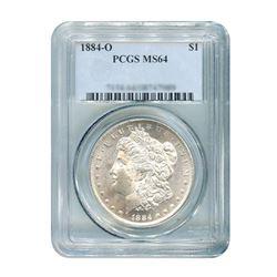 1884-O $1 Morgan Silver Dollar - NGC MS65