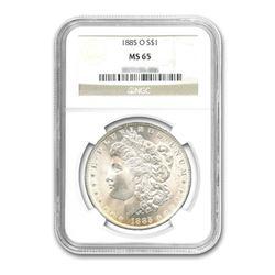 1885-O $1 Morgan Silver Dollar NGC MS65