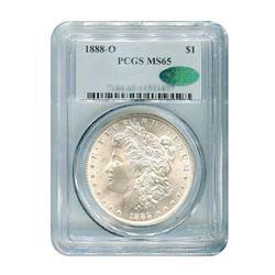 1888-O $1 Morgan Silver Dollar PCGS MS65